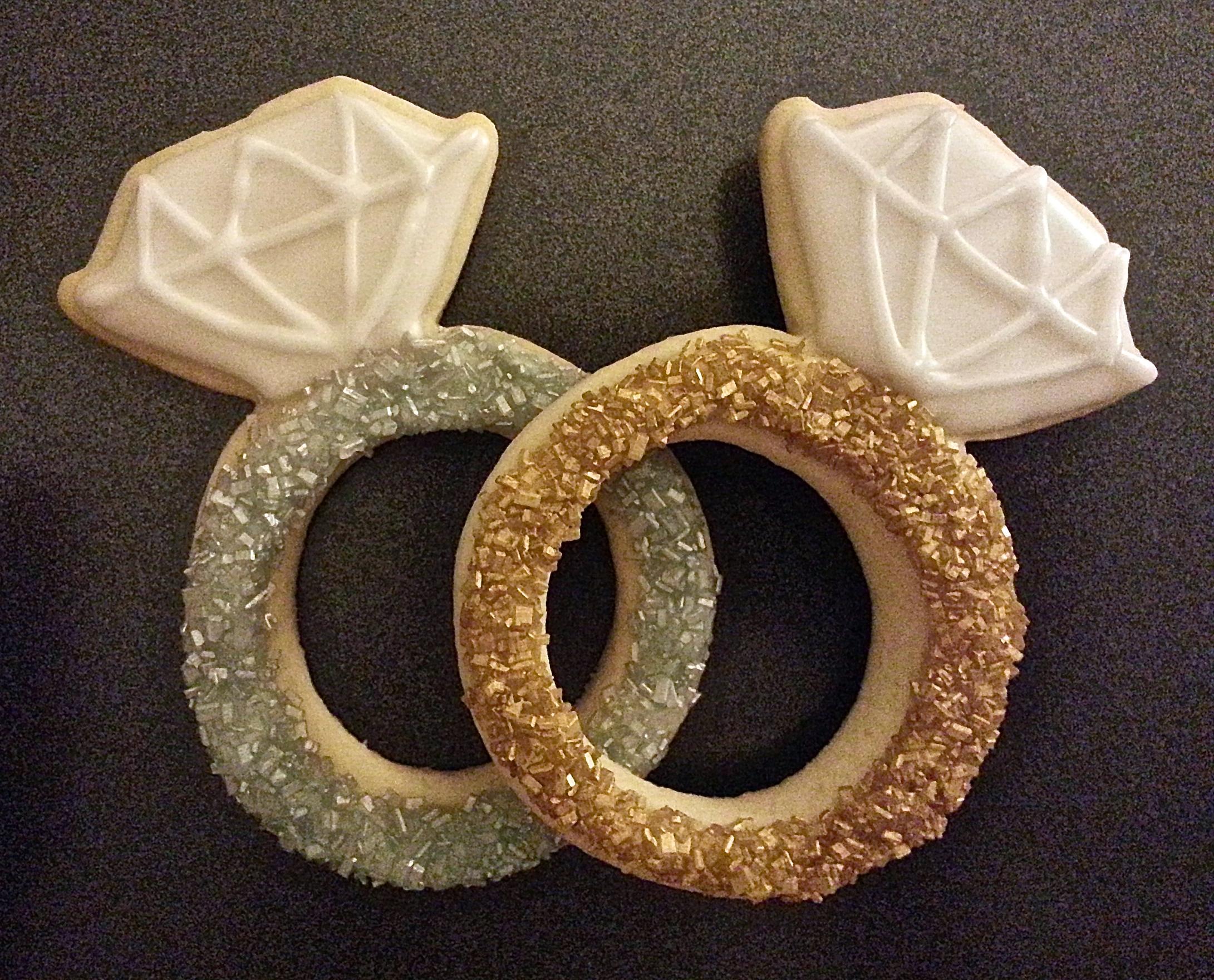 engagement ring cookies s cookie jar