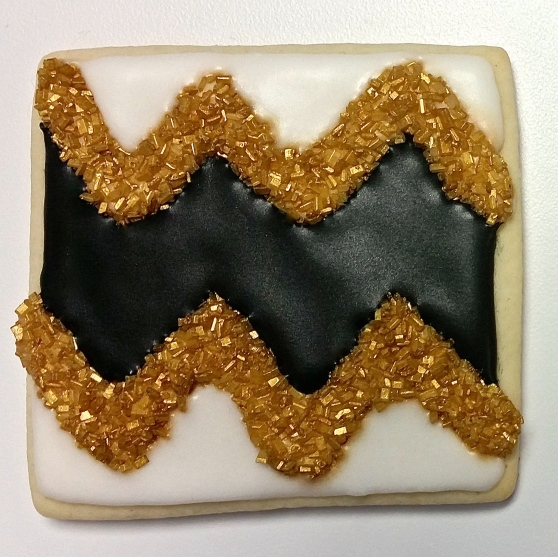 Chevron Cookie