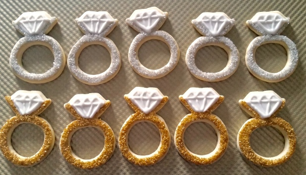 Diamond Ring Cookies