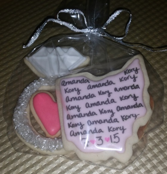 Ohio Wedding Cookies